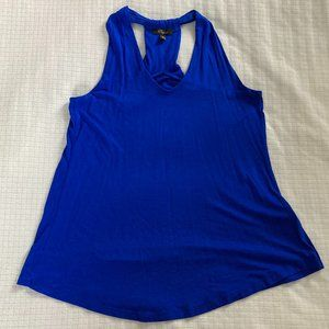 NWOT Blue Cupid Racer-back Tank Top, Small